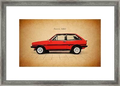 Ford Fiesta Xr2 Framed Print by Mark Rogan