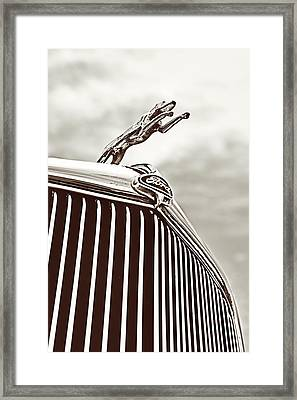 Framed Print featuring the photograph Ford Greyhound by Caitlyn Grasso