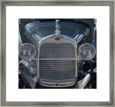 Ford Grill Framed Print