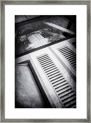 Ford Gt Engine -0391ac Framed Print