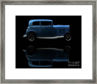 Ford Hot Rod Reflection Framed Print