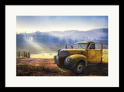 Antique Automobiles Framed Prints