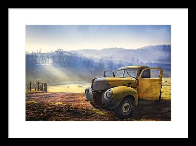 Truck Framed Prints
