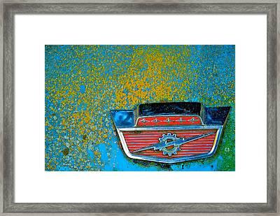Ford Logo Framed Print by Craig Perry-Ollila