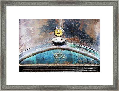 Ford Made In Usa Rat Rod Framed Print by Tim Gainey