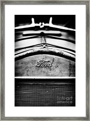 Ford Made In Usa  Framed Print by Tim Gainey