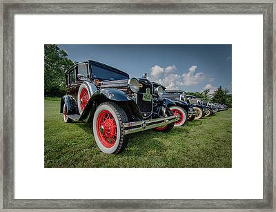 Ford Model T Collection Framed Print by Mike Burgquist