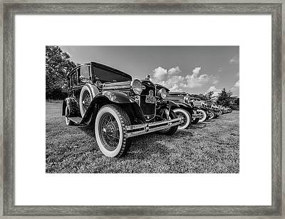 Ford Model T Framed Print by Mike Burgquist