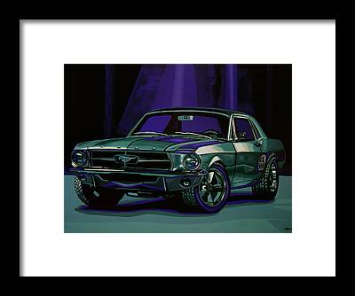 Designs Similar to Ford Mustang 1967 Painting