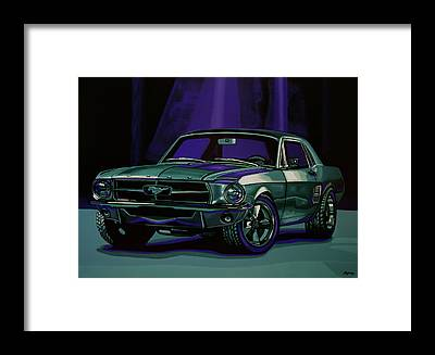 Vehicles Framed Prints