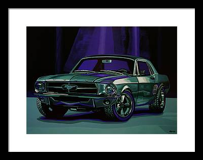 Ford Coupe Framed Prints