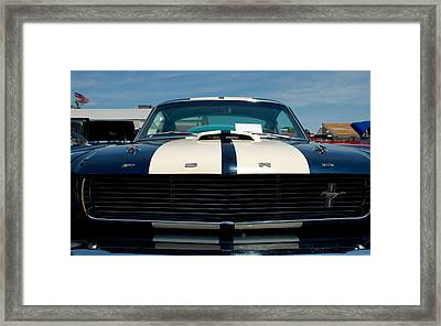 Ford Mustang 2 Framed Print by Mark Dodd
