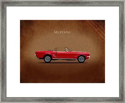 Ford Mustang 289 Framed Print by Mark Rogan