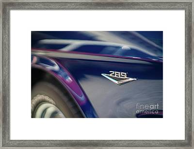 Ford Mustang 289  Framed Print by Mike Reid