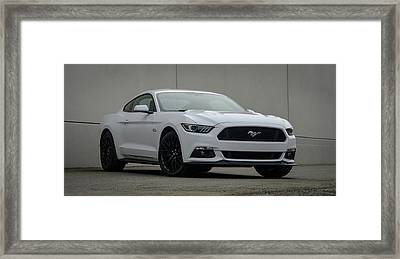 Ford Mustang Framed Print by Andy Shapiro
