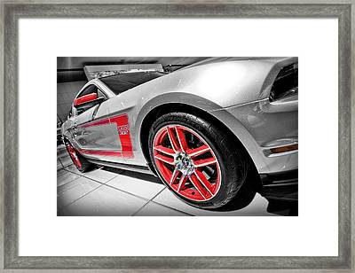 Ford Mustang Boss 302 Framed Print