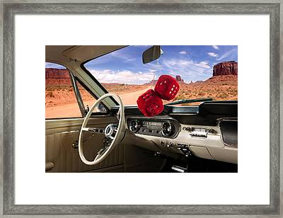 Ford Mustang Dreams Framed Print