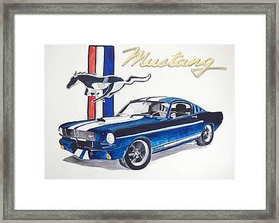 Ford Mustang Framed Print