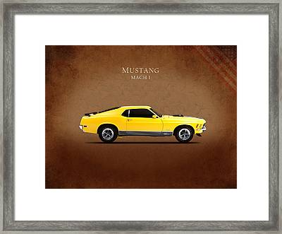 Ford Mustang Mach 1 Framed Print