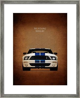 Ford Mustang Shelby 06 Framed Print by Mark Rogan