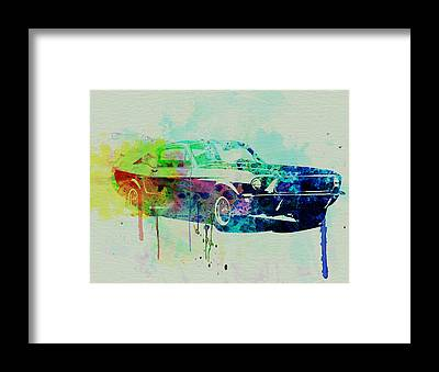Ford Automobiles Framed Prints