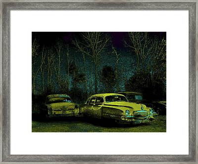 Ford-o-matic And Friends Framed Print by David A Brown