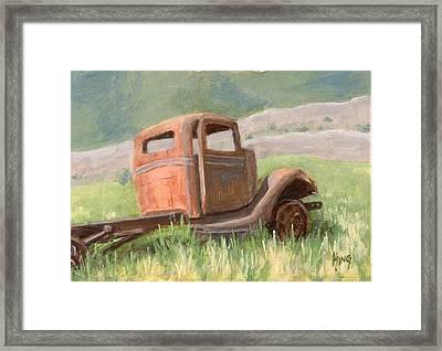 Ford On The Range Framed Print