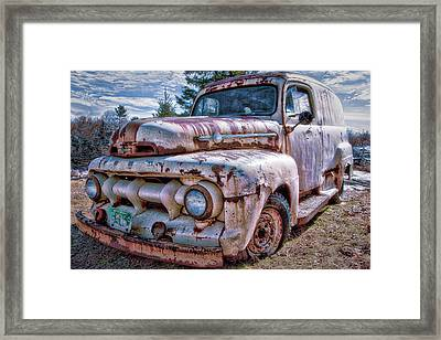 Ford Panel Truck Framed Print
