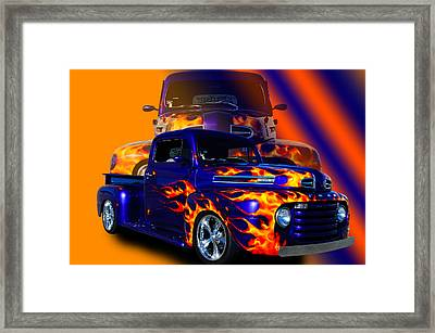 Ford Pick Up Truck Framed Print by Jim  Hatch