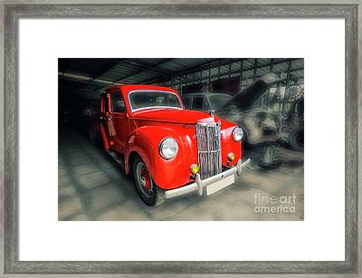Framed Print featuring the photograph Ford Prefect by Charuhas Images