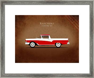 Ford Ranchero 1957 Framed Print