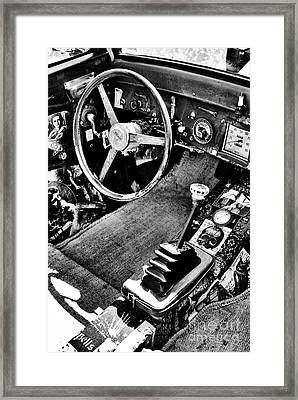 Ford Rat Rod Framed Print by Tim Gainey