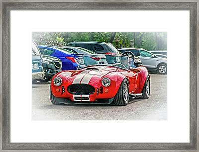 Ford/shelby Ac Cobra Framed Print by Steve Harrington