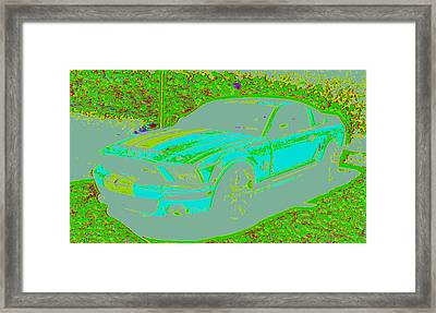 Ford Shelby D4 Framed Print by Modified Image