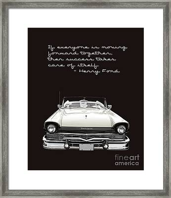 Ford Success Poster Framed Print