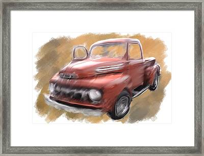 Ford Tough Framed Print
