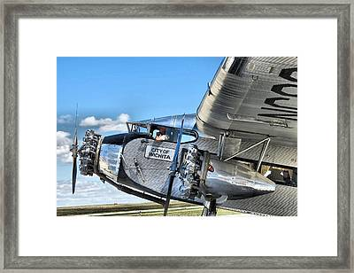 Ford Trimotor Framed Print by Michael Daniels