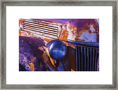 Ford Truck Framed Print by Garry Gay