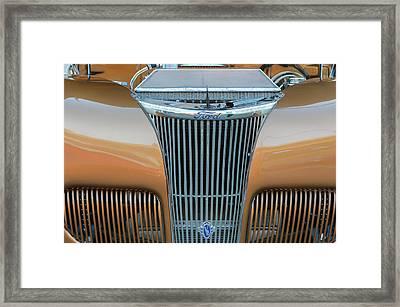 Ford V8 Framed Print