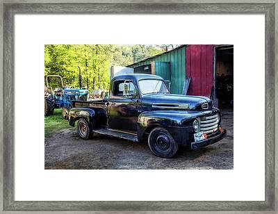 Fords Framed Print by Debra and Dave Vanderlaan