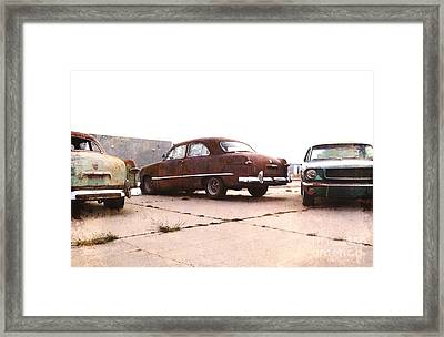 Fords Framed Print