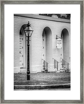 Ford's Theatre  Framed Print