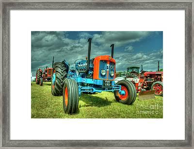 Fordson Custom  Framed Print by Rob Hawkins