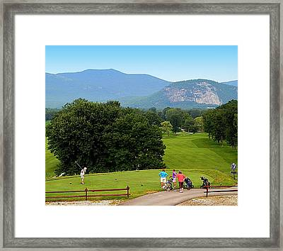 Fore Framed Print by Karen Cook