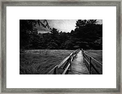 Fore River Marsh Framed Print