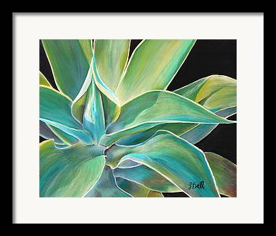 Aloe Vera Framed Prints
