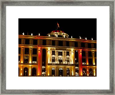 Foreign Affairs Building Framed Print by Rae Tucker