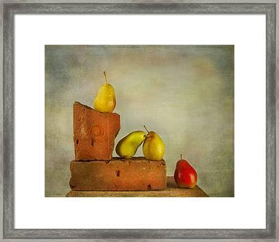 Forelle Pears Framed Print