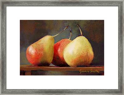 Forelle Trio Framed Print by Jeanne Rosier Smith