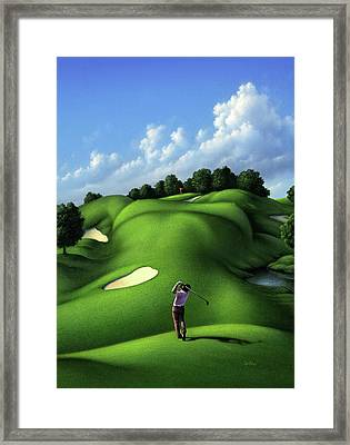 Foreplay Framed Print by Jerry LoFaro